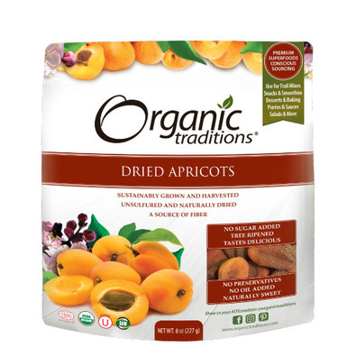 Organic Traditions Organic Dried Apricots