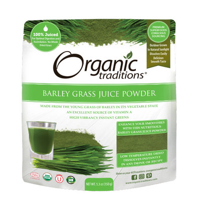 Barley Grass Juice Powder is made from young, nutrient dense grass of barley