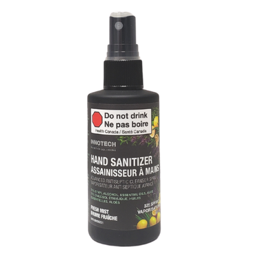 Innotech Hand Sanitizer Advanced Antiseptic Cleanser Spray