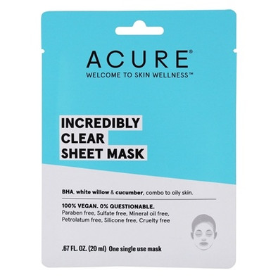 Acure Incredibly Clear Sheet Mask Canada