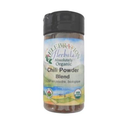 Celebration Herbals Organic Chili Powder Blend 50 grams