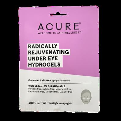 Acure Radically Rejuvenating Under Eye Hydrogels single use pack