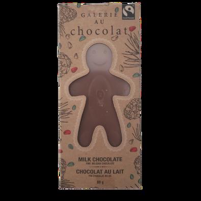 Galerie Au Chocolat Milk Chocolate Gingerbread Man 80 grams