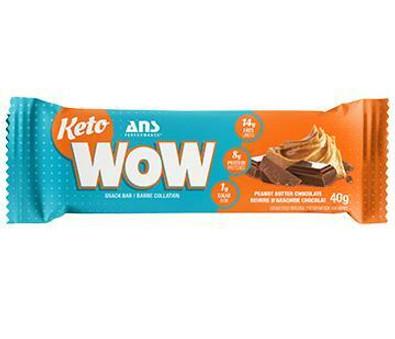 Ans Performance KETOWOW Peanut Butter Performance Snack Bar 40 grams