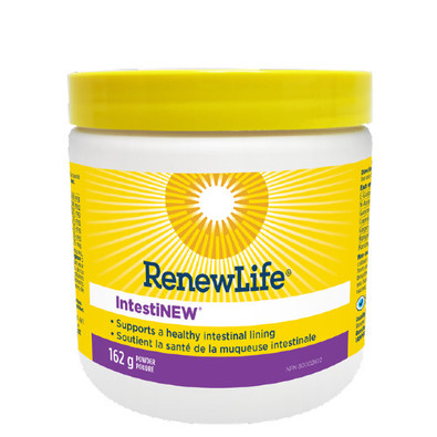 Renew Life IntestiNEW repair a leaky gut, create healthy intestinal lining.  162 grams. NEW LOOK