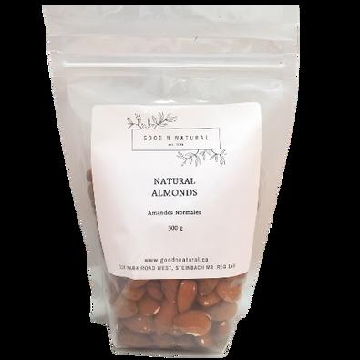 Good n Natural - Natural Almonds 300 grams