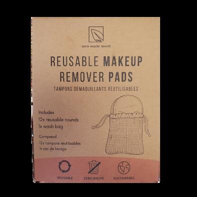 Zero Waste Mvmt Reusable Makeup Remover Pads Box