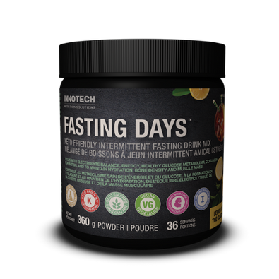 Innotech Lemon Iced Tea Fasting Days Intermittent Fasting Drink Mix 36 servings