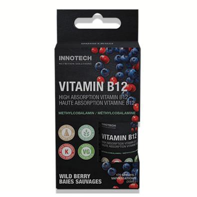 Innotech Vitamin B12 Energy Booster oral spray.