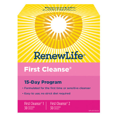 Renew Life First Cleanse 15 Day Program