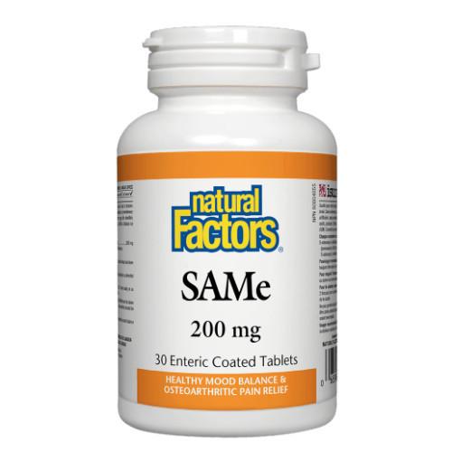 Natural Factors Canada SAMe Mood Balance 30 tablets
