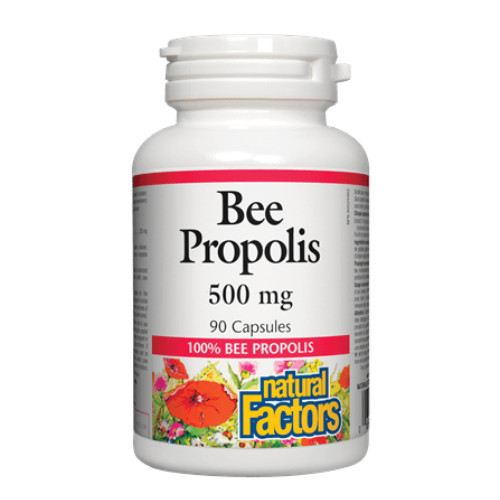 Natural Factors Bee Propolis 500 mg 90 capsules canada