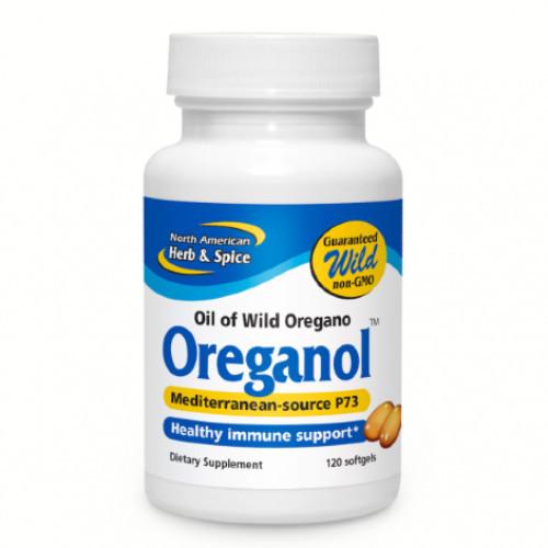 North American Herb & Spice Oreganol 120 gelcaps Canada
