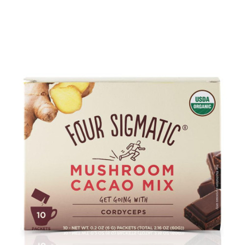 Four Sigmatic Mushroom Hot Cacao Mix with Cordyceps 10 packets Canada
