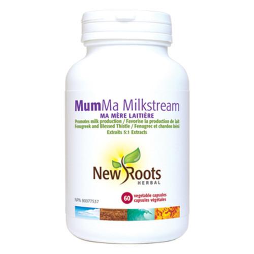 New Roots Mum Ma Milkstream healthy milk production 6 vegetable capsules.