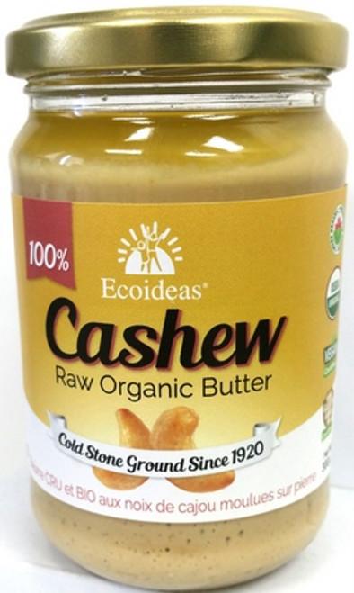 Ecoideas Raw Organic Cashew Butter 300 grams