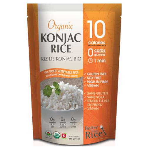 Ecoideas Organic Konjac Rice Better Than Rice Canada