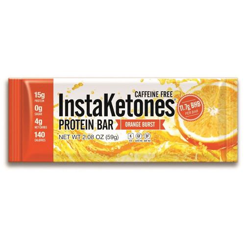 Julian Bakery Orange Burst InstaKetones Protein Bar Ketogenic Energy Fat Loss Low Carb