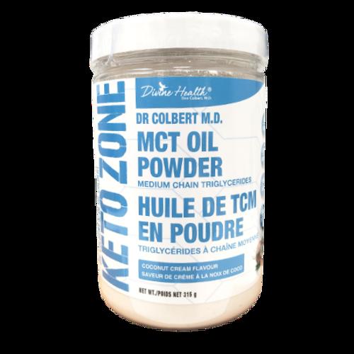 Divine Health Coconut Cream Keto Zone MCT Oil Powder 315 grams