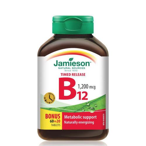Jamieson B12 80 tablets bonus bottle