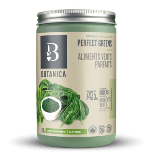 Botanica Organic Perfect Greens Unflavoured 216 grams Canada