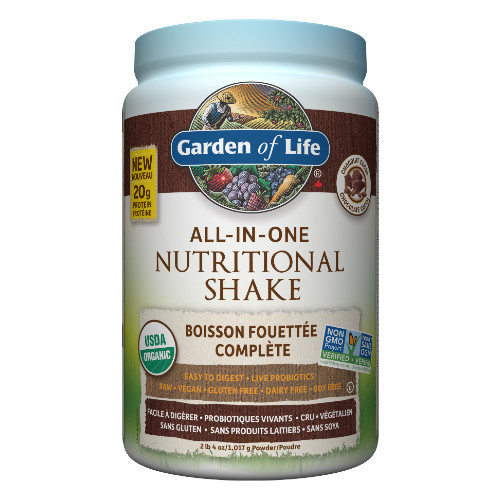Garden of Life Chocolate Cocoa All-In-One Nutritional Shake Canada