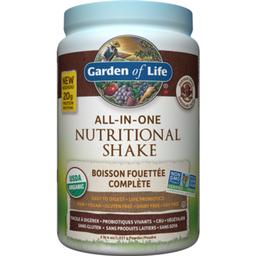 Garden of Life Chocolate Cocoa All-In-One Nutritional Shake 1,017 grams