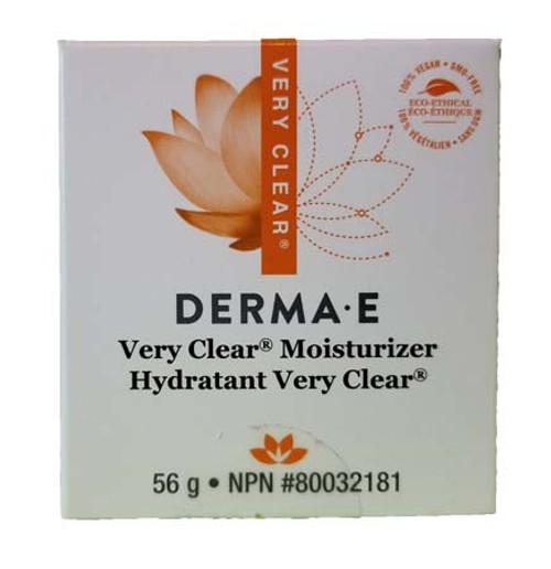 Derma E Very Clear Moisturizer 56 grams