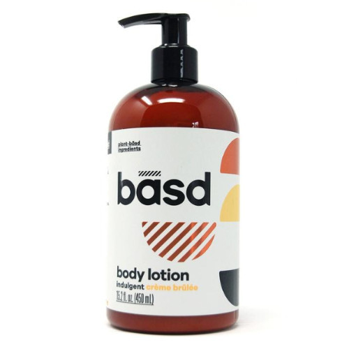 basd Indulgent Creme Brulee Body Lotion stretch marks scarring organic natural Canada
