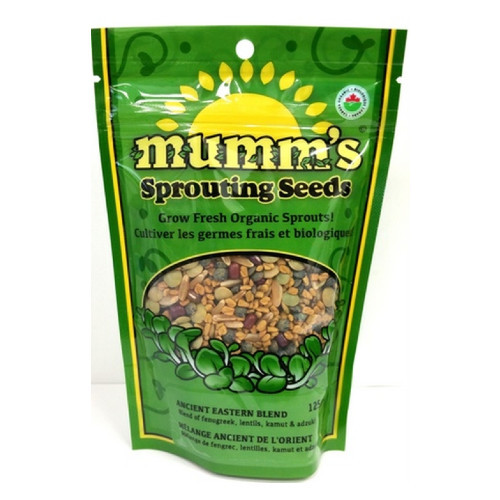 mumm's Sprouting Seeds Ancient Eastern Blend 125 grams
