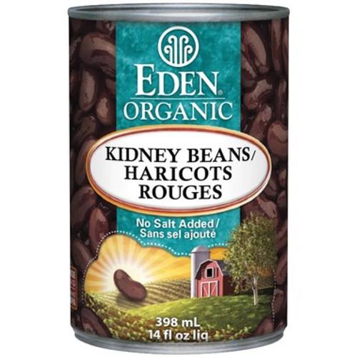 Eden Organic Kidney Beans No Salt Added 398 ml Canada