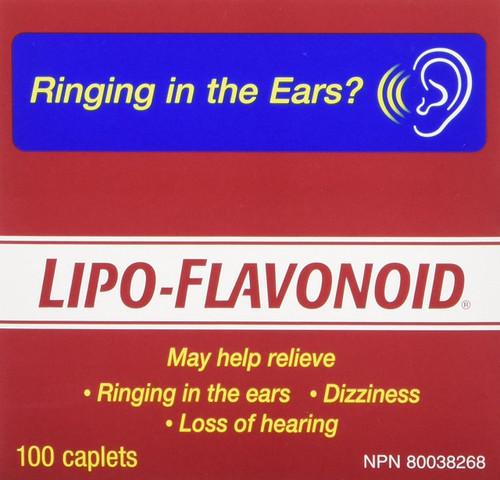 Lipo-Flavonoid Tinnitus ear ringing supplement Canada