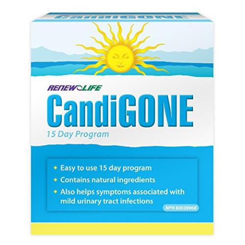 Renew Life CandiGONE cleanse kit candida Canada