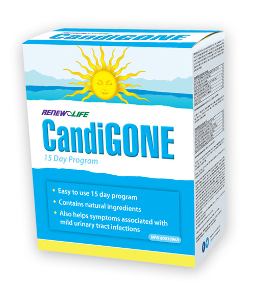 Renew Life CandiGONE 15 Day Cleanse Program