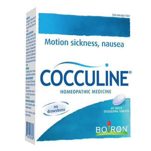 Boiron Cocculine Motion Sickness Nausea homeopathic remedy