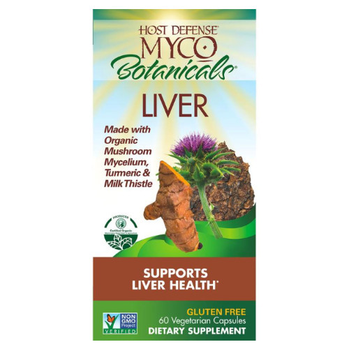 Host Defense MycoBotanicals Liver detox and support liver function Canada