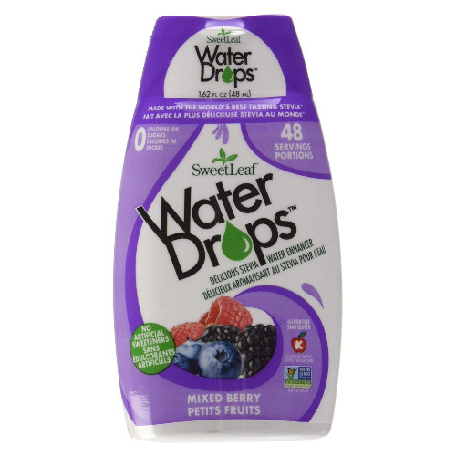 SweetLeef Mixed Berry Water Drops hydration enhancer flavour water Canada