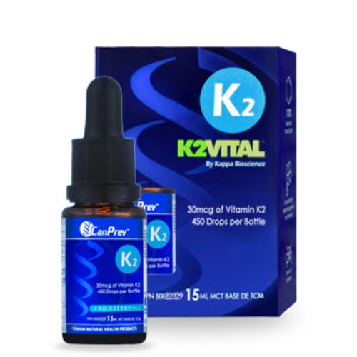CanPrev K2VITAL Vitamin K2 Drops Canada