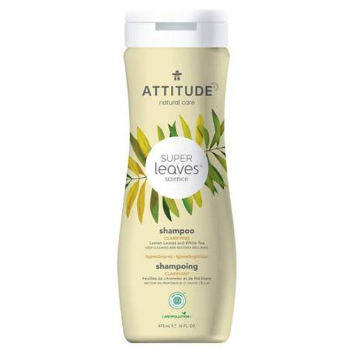 Attitude Natural Care Super Leaves Science Shampoo Clarifying 473 ml