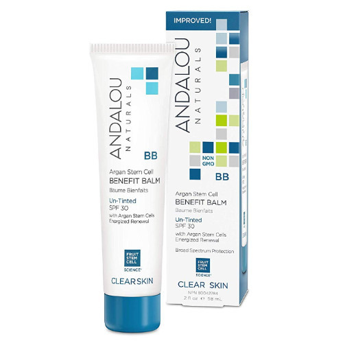 Andalou Naturals Clear Skin Argan Stem Cell Benefit Balm 58 mL