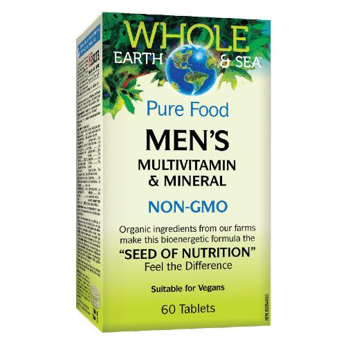 Whole Earth & Sea Men's Multivitamin & Mineral 60 tablets Canada