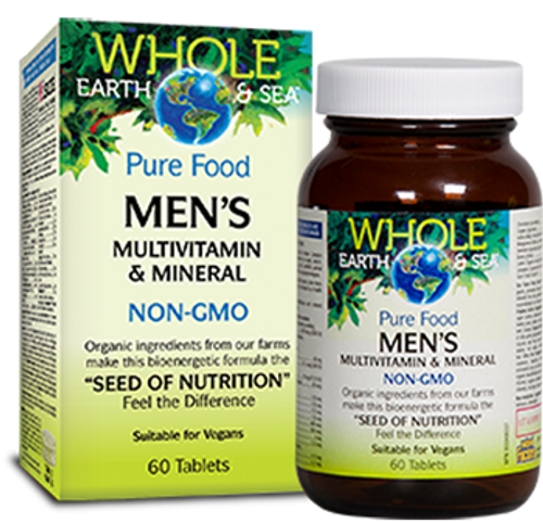Whole Earth & Sea Men's Multivitamin & Mineral 60 tablets