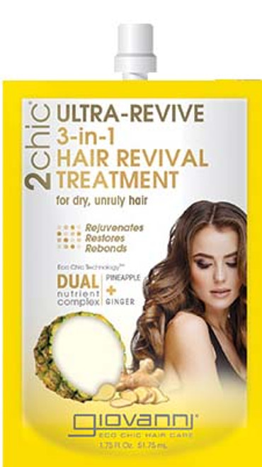 Giovanni 2Chic Ultra-Revive 3-in-1 Hair Revival Treatment 51.75 mL