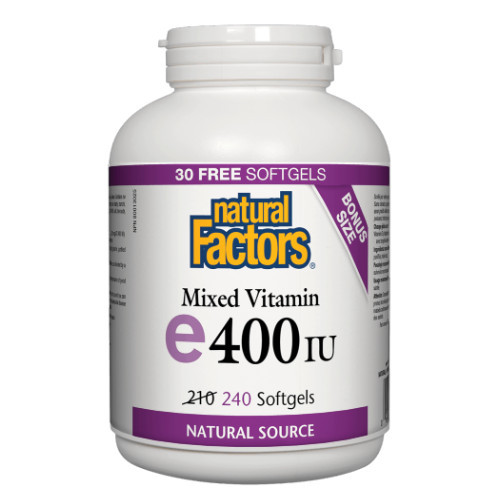 Natural Factors Mixed Vitamin e 400 IU Canada bonus size