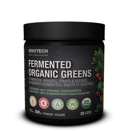 Innotech Fermented Organic Greens 250 grams