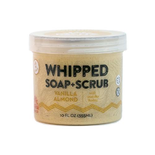 Pacha Soap Co Soothing Vanilla Almond Whipped Soap & Scrub 284 grams