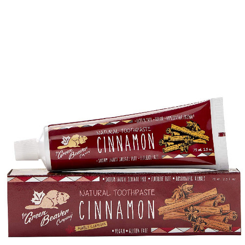 The Green Beaver Company Cinnamon Natural Toothpaste 75 ml Canada