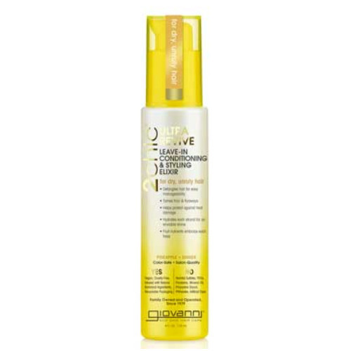 Giovanni 2Chic Pineapple & Ginger Ultra-Revive Leave-In Conditioner & Styling Elixir 118ml