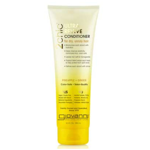 Giovanni 2Chic Pineapple & Ginger Ultra-Revive Conditioner Canada dry hair moisturize shine