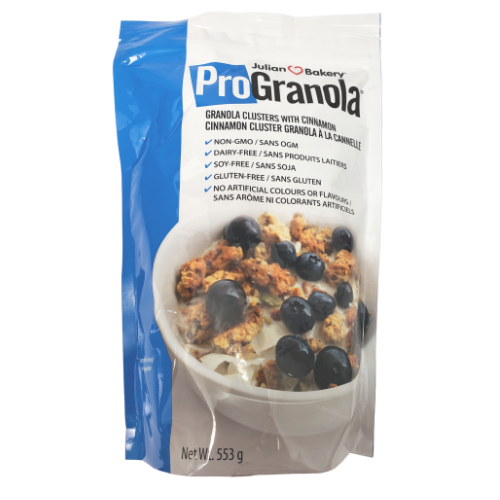 Julian Bakery ProGranola Granola Clusters with Cinnamon 553 grams